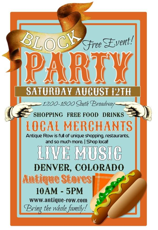 Summer Block Party Aug 12